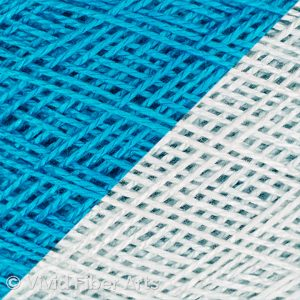 Pure Turquoise - End Yardage.